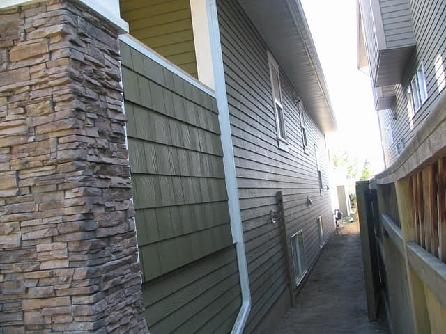 Hardie Shake Siding Plank Viklund Contracting Sundre Alberta
