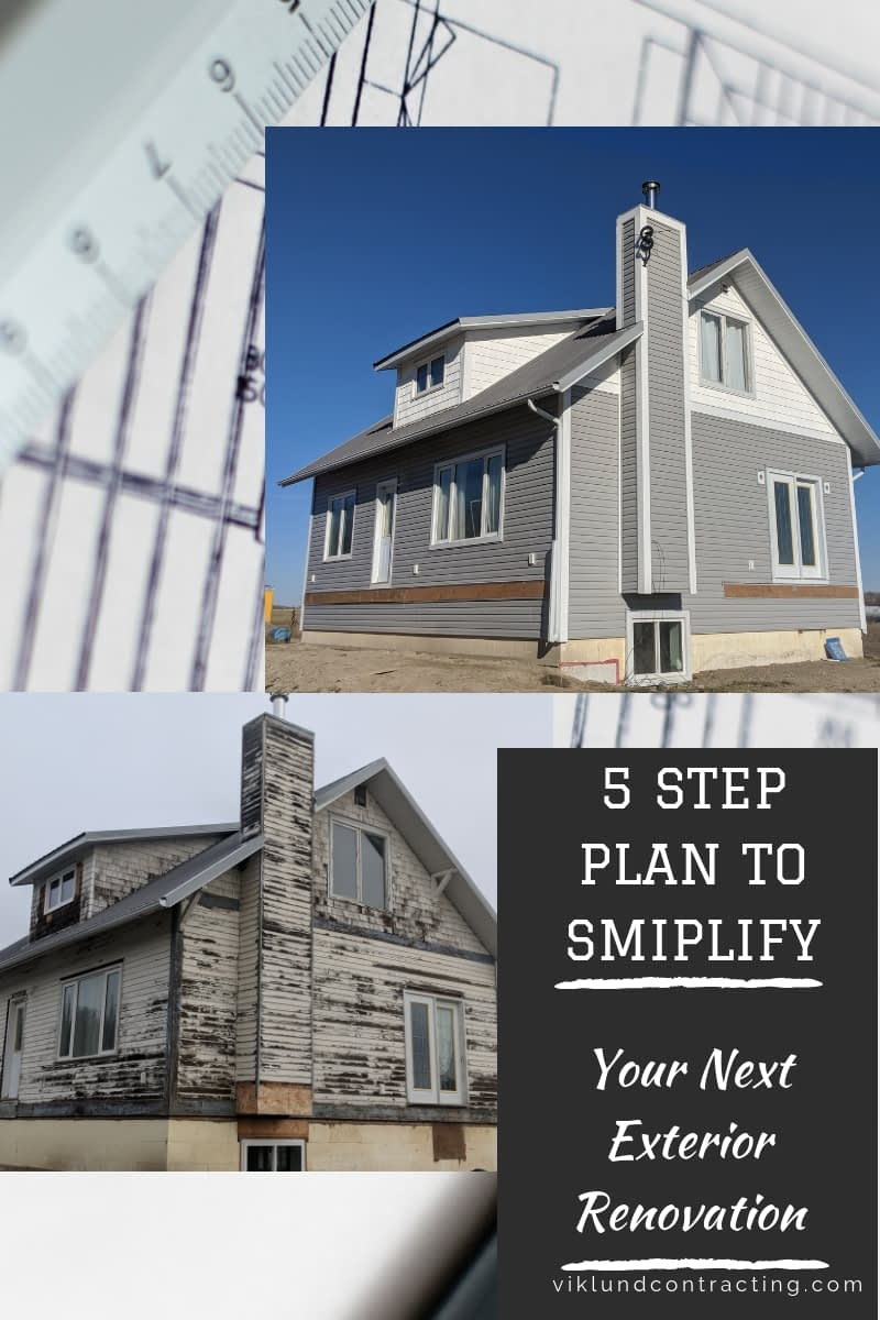 5 Steps To Simplifying Your Exterior Siding Project